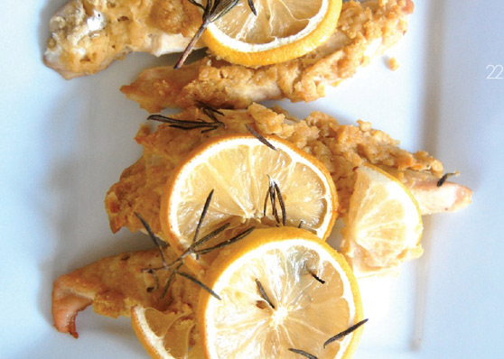 Hummus-Crusted-Chicken-with-Rosemary-and-Lemon